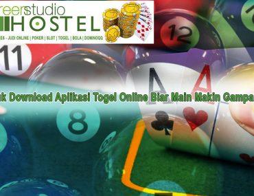 Togel Online Biar Main Makin Gampang - GreenStudioHostel